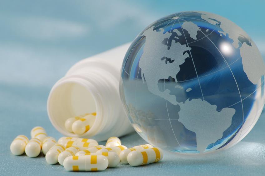 地球とお薬